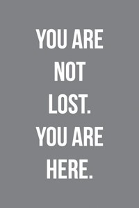 You are not lost. Harmaa