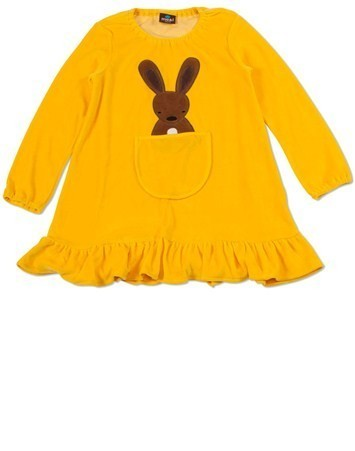 rabbit in the pocket tunic